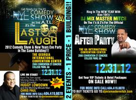 Last Laff  2012 New Year's Comedy Show & New Years Eve...