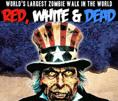 Red, White & Dead Zombie Walk 2015