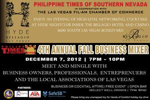 Philippine Times 4th Annual Fall Business Mixer