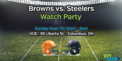 Watch Party - Browns vs Steelers - Columbus, OH Sept 7