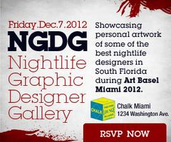 Nightlife Graphic Designer Gallery - Art Basel 2012