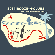 Booze-N-Clues Bar & Beach Scavenger Hunt