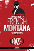 French Montana Performs Live at HAZE Nightculb