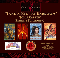 """Take a Kid to Barsoom"" 