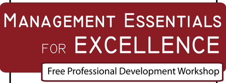 Management Essentials for Excellence