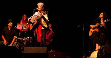 Marianne Aya Omac with special guest Joan Baez