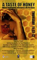 'A TASTE OF HONEY' the OFFICIAL THANKSGIVING NIGHT...