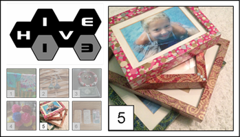 Decoupage Picture Frames – Re-Do 2nd Chance!