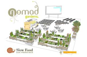 NOMADgardens/Slow Food SF Fundraiser party