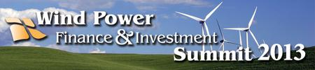 Infocast's Wind Power Finance & Investment Summit 2013