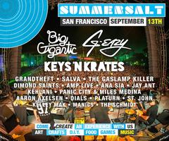 SUMMERSALT Music Festival at PIER 70 in San Francisco...