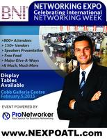 Vendor Site: BNI Networking Expo 2015