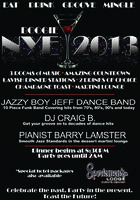 New Year's Eve 2013 Groove Bash at Sportsmen's Lodge...