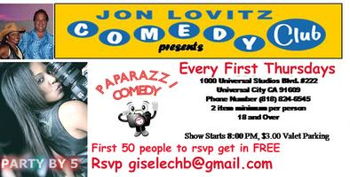 "Paparazzi Comedy ""In Honour of our Troops"" at Jon..."