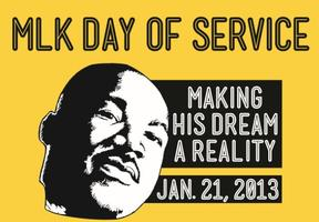 MLK Day of Service 2013