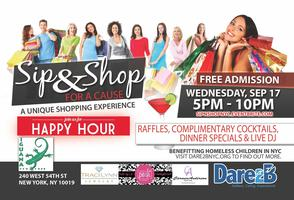 Sip & Shop for a Cause - Happy Hour