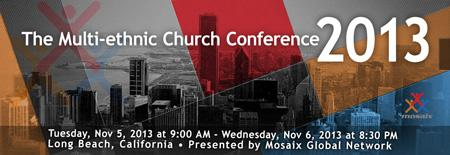 Multi-Ethnic Church Conference 2013