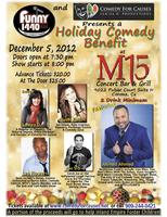 Holiday Comedy Show/Benefit!