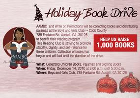 AAMBC & Write On Promotions Book Drive event at Boys...