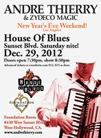 Andre Thierry & Zydeco Magic -                   House...