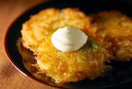 TNT Preps for Latke Cook-off