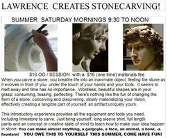 Stonecarving with Frank Shopen