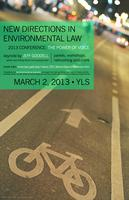 New Directions in Environmental Law: The Power of Voice