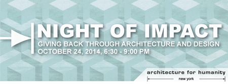 Night of Impact: Giving back through Architecture and Design.