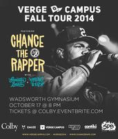 Verge Campus Fall Tour featuring Chance the Rapper