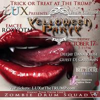 Trick or Treat at the Trump an Elegant Veuve Clicquot...