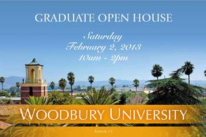 Woodbury University - Graduate Open House