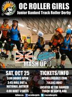 OC Roller Derby Banked Track: Slice Girls & San Diego...
