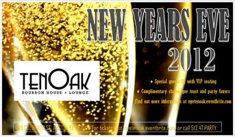 New Year's Eve at tenOak