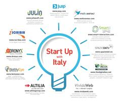 START UP WITH ITALY - Discover 11 of The Hottest Emerging Technologies, ICT, Big Data and Mobile Innovators that Italy has to offer.