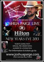 New Years Eve 2013 - Country Rock Artist Joshua Paige...
