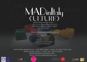 MADinItaly & CULTURED Magazine - ART BASEL PARTY