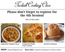 TURKISH COOKING CLASS SESSION 4
