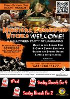 Spooktacular Halloween Dance & Costume Party @Luminarias, Oct 31