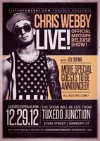 12/29/12 Chris Webby Live - Official Mixtape Release...