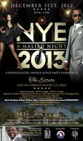 A MALIBU NIGHT | NYE 2013