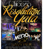 New Year's Chicago Resolution Gala at Navy Pier Grand Ballroom