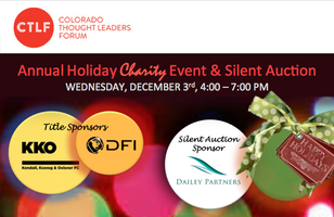 CTLF's Annual Holiday Charity Event & Silent Auction
