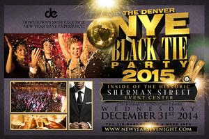 Denver New Year's Eve Black Tie Party 2015