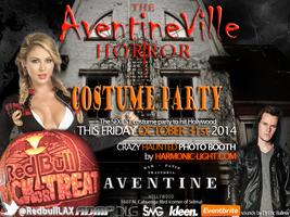 DJ Eric Ballew presents The AventineVille Horror Costume Party featuring a HAUNTED PHOTO BOOTH.