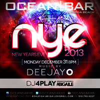 Ocean Bar and Abigaile New Years Eve 2013