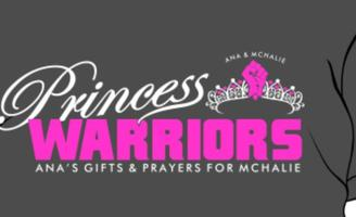 Princess Warriors T-shirt sale