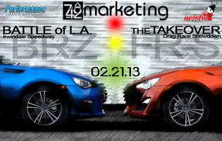"BATTLE of L.A. ""THE FR-S / BRZ TAKEOVER"