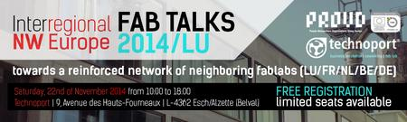 Interregional FabTalks 2014 | PROUD