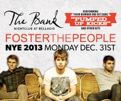 New Year's Eve with Foster The People at The Bank...