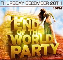End of the World Party @ Blue Martini Brickell